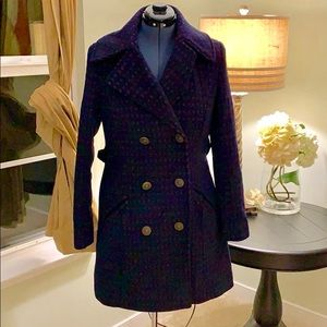 🌺Xhilaration Wool Blend Pea Coat Size M